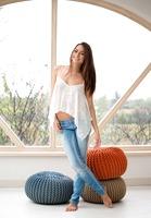 Michaela Isizzu in Blue Jeans by Digital Desire - 3 of 16