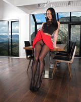 Sabrina Banks in Pantyhose Toying by In The Crack - 1 of 15