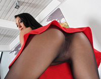 Sabrina Banks in Pantyhose Toying by In The Crack - 3 of 15