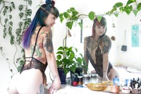Mernie in Home Sweet Home by Suicide Girls - 3 of 12